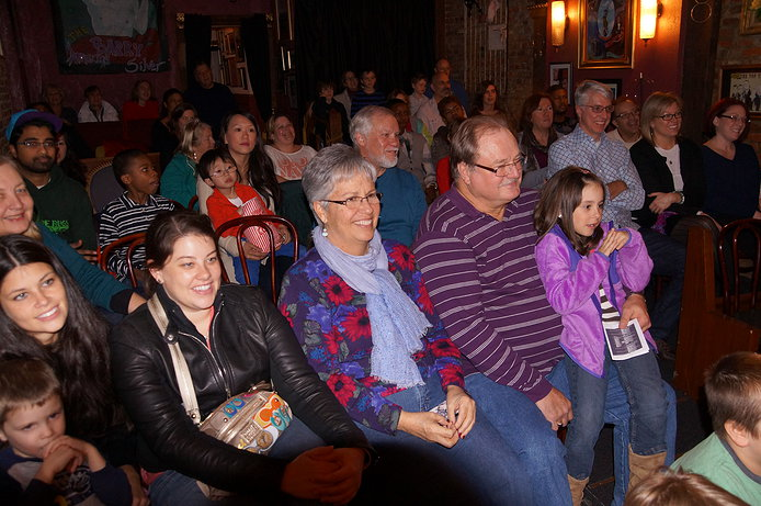 Family Audience - Lancaster Magician Eddy Ray