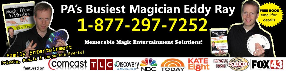 Eddy Ray – #1 Lancaster Magician